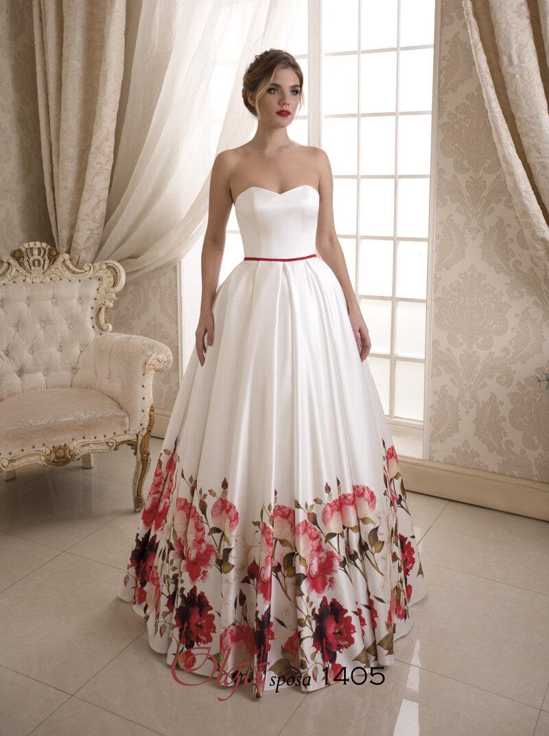картинки свадебного платья не пышного цветения одежду