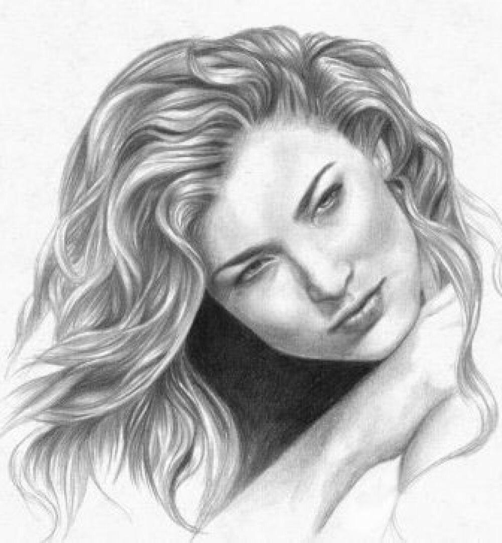 Открытки, рисунок онлайн карандашом