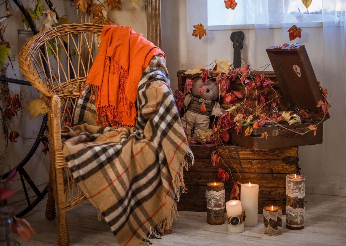 Фотостудия с осенними декорациями спб