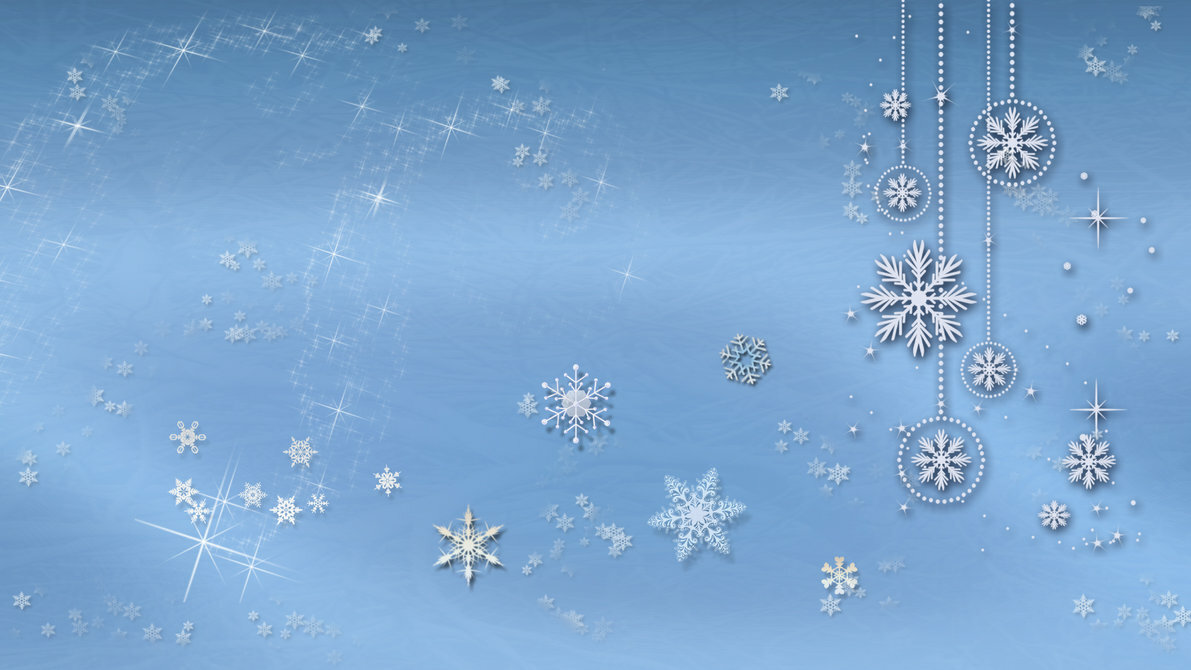 Фон для открытки зимний синий