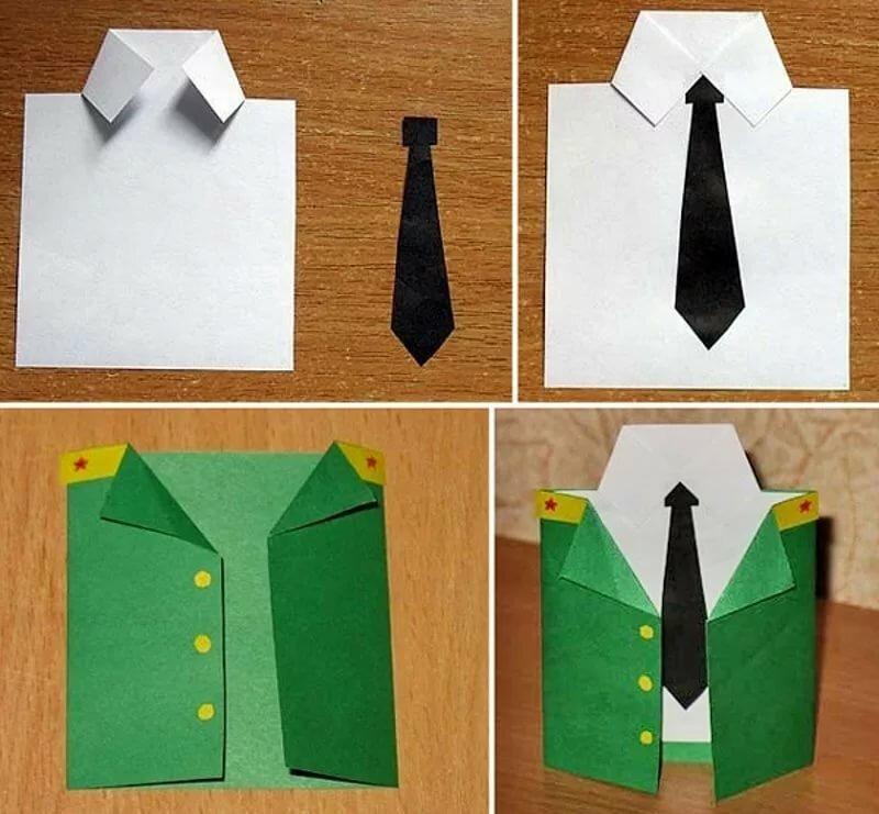 Пасху, открытки из бумаги рубашки