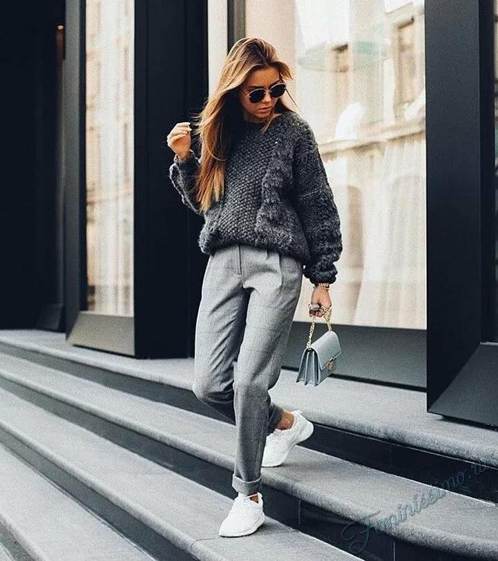 306346c19d8 ... Одежда в стиле кэжуал 2018 - самые модные и стильные образы