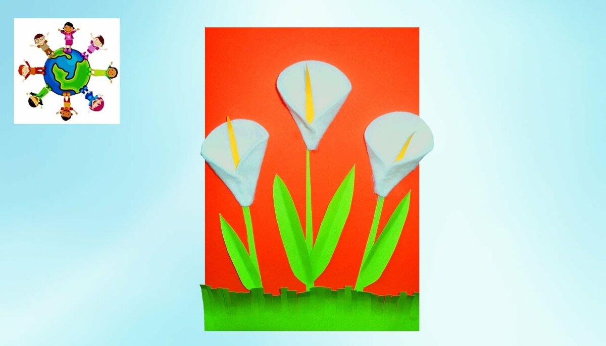 Картинки, как сделать открытку на 8 марта с ребенком 4 лет