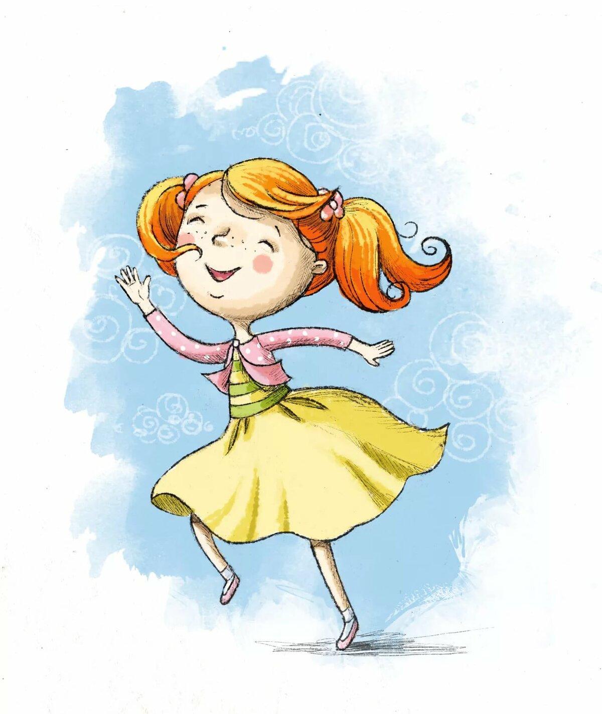 Для девочек, смешная девочка картинки рисунки