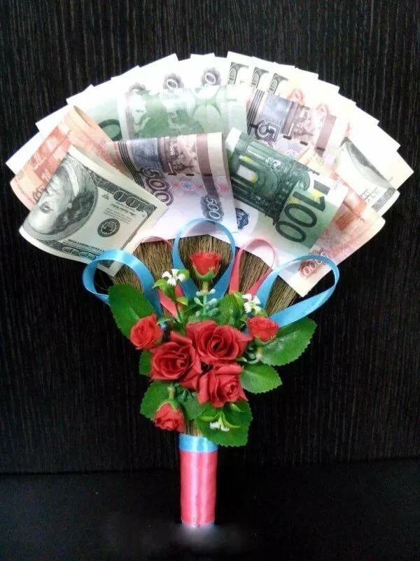 Оригинальные поздравления на свадьбу с вручением подарков из денег картинки