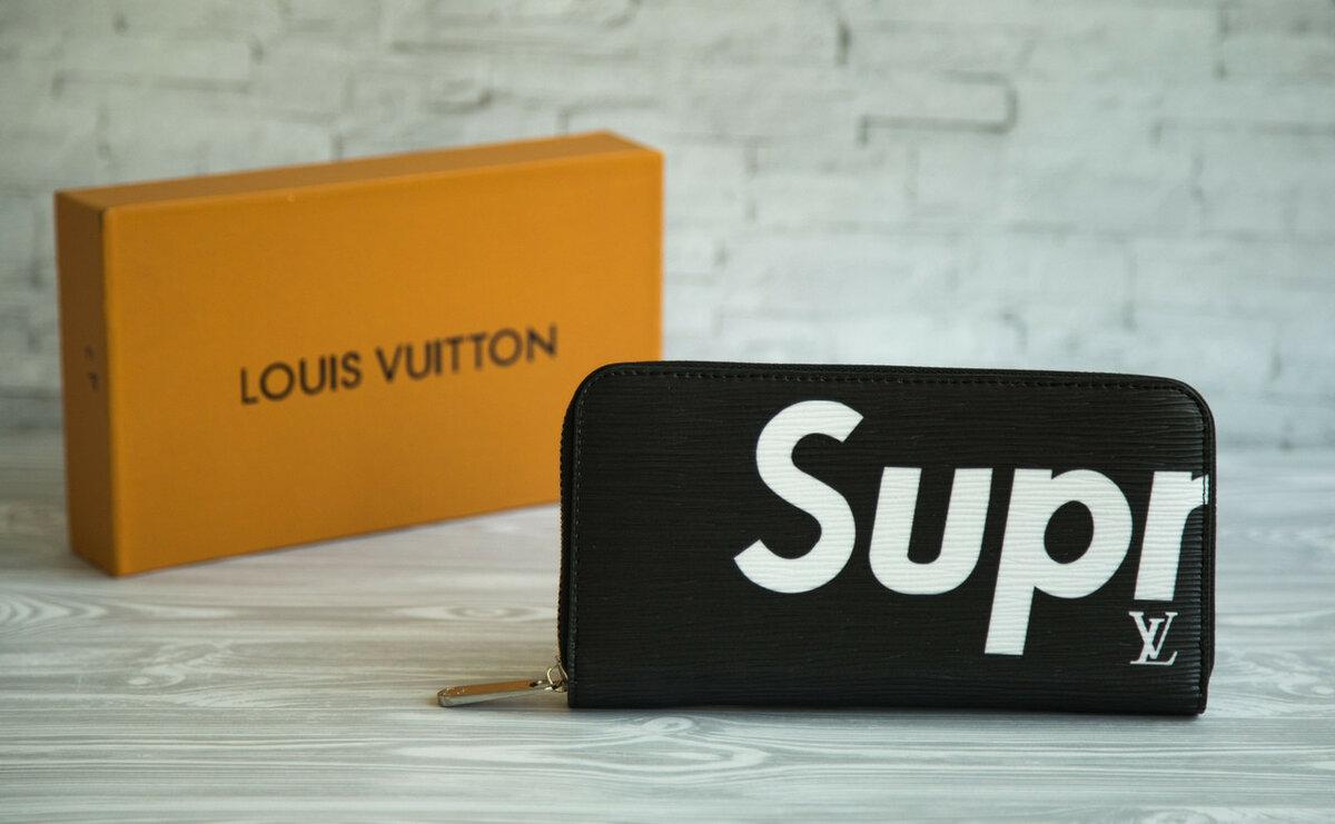 a1ccbff11b55 https Портмоне Supreme от Louis Vuitton. Мужской кошелек клатч LV  Подробности... 💯 https