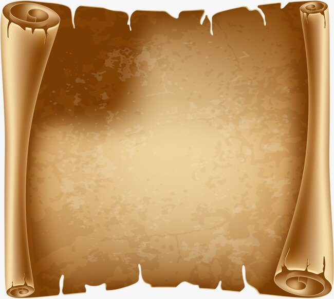 Открытка пергамент