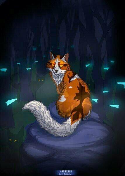 картинки кошки воительницы кленовница