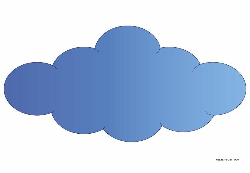 Картинка для детей облака
