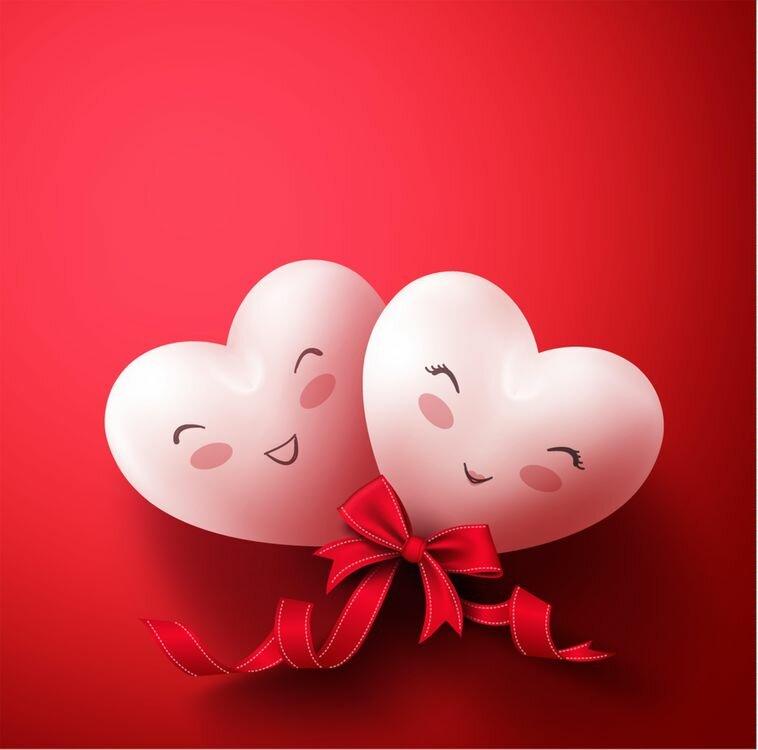 Картинки любимым на день валентина