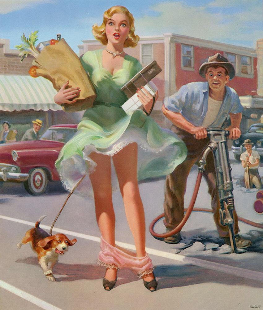 Американские открытки современные