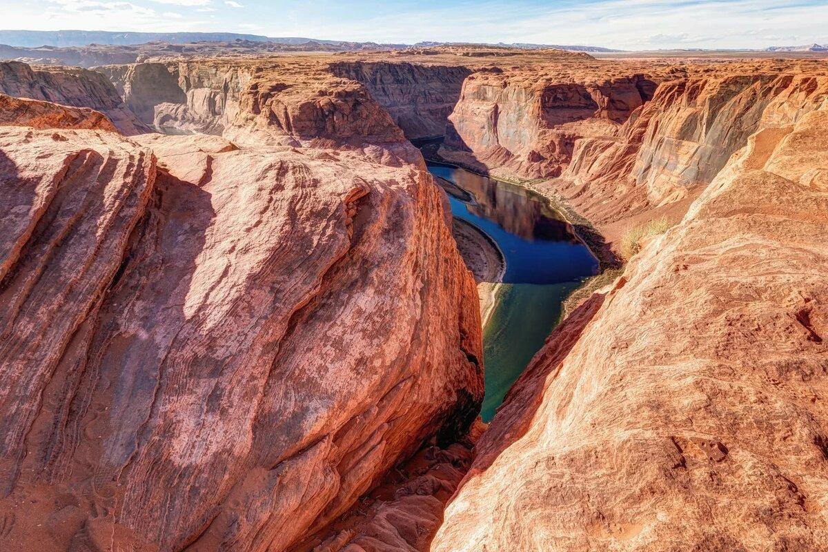 Простая открытка, эксклюзивные картинки каньонов