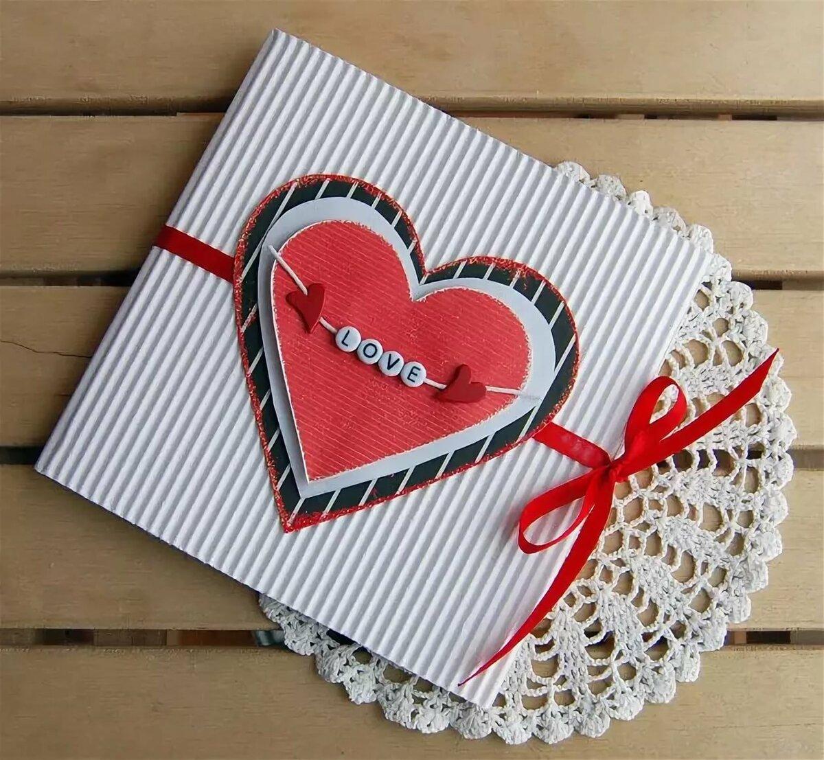 Как сделать открытки на день влюбленных своими руками, днем рождения папе