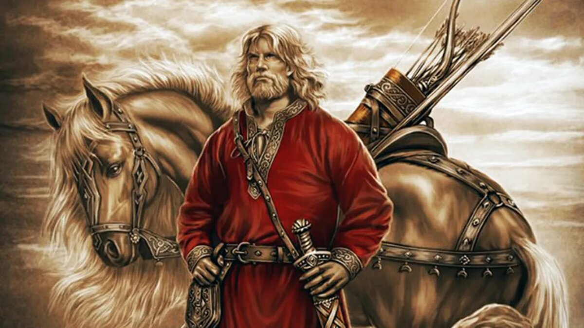 Картинки с славянскими воинами