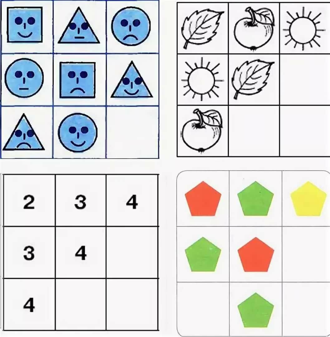 Узнать предмет по картинкам при помощи логики