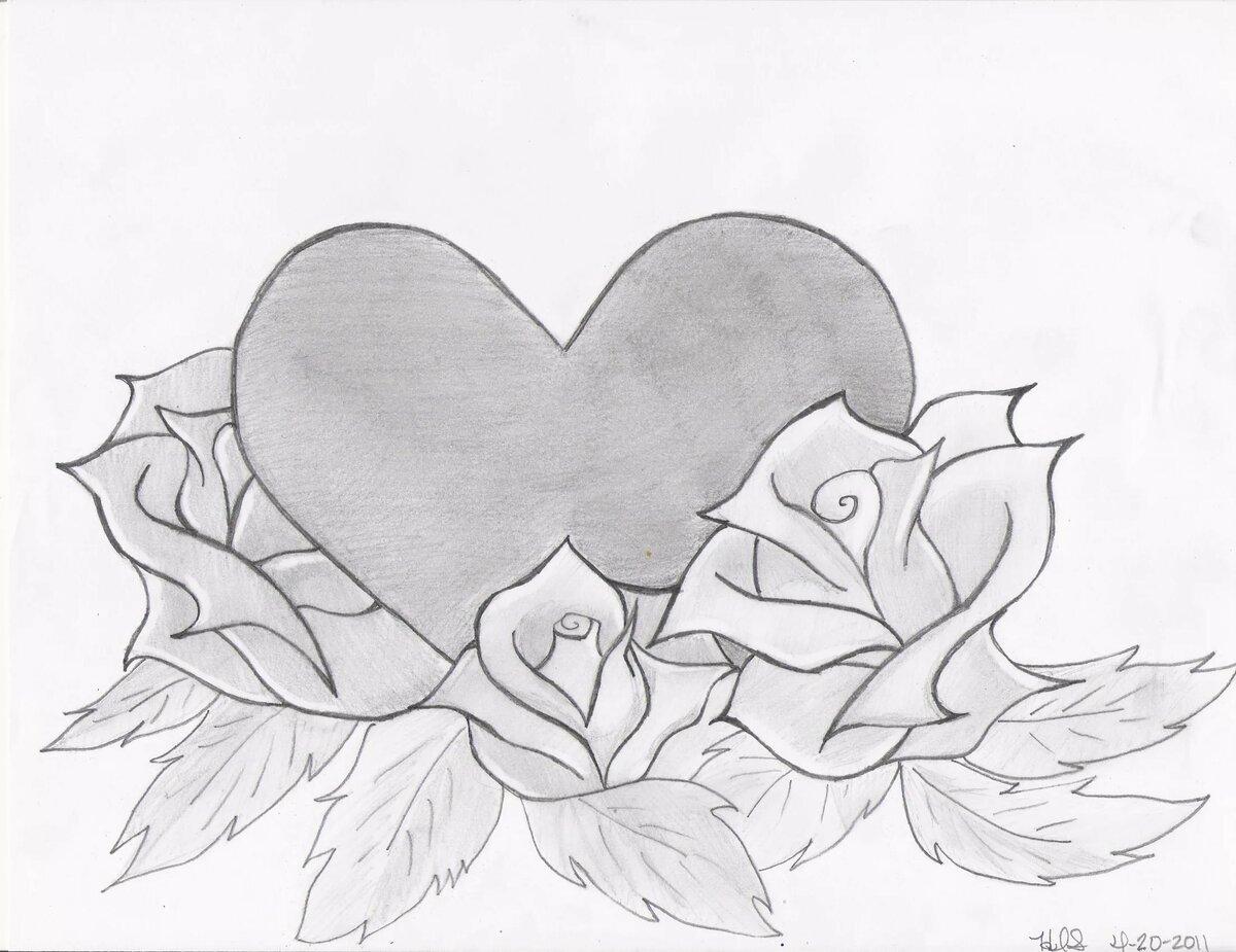 Картинки для срисовки карандашом прикольные для девочек для начинающих, открытки картинки