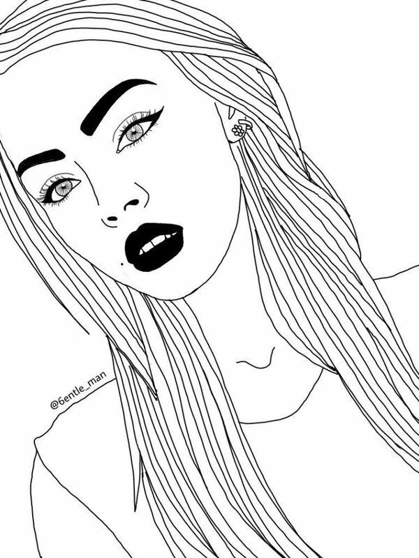 Ирину днем, рисунки прикольных девочек простым карандашом