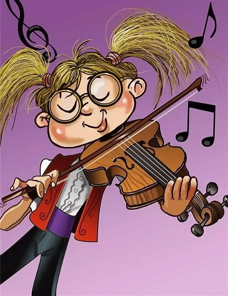 Смешные рисунки о музыкантах