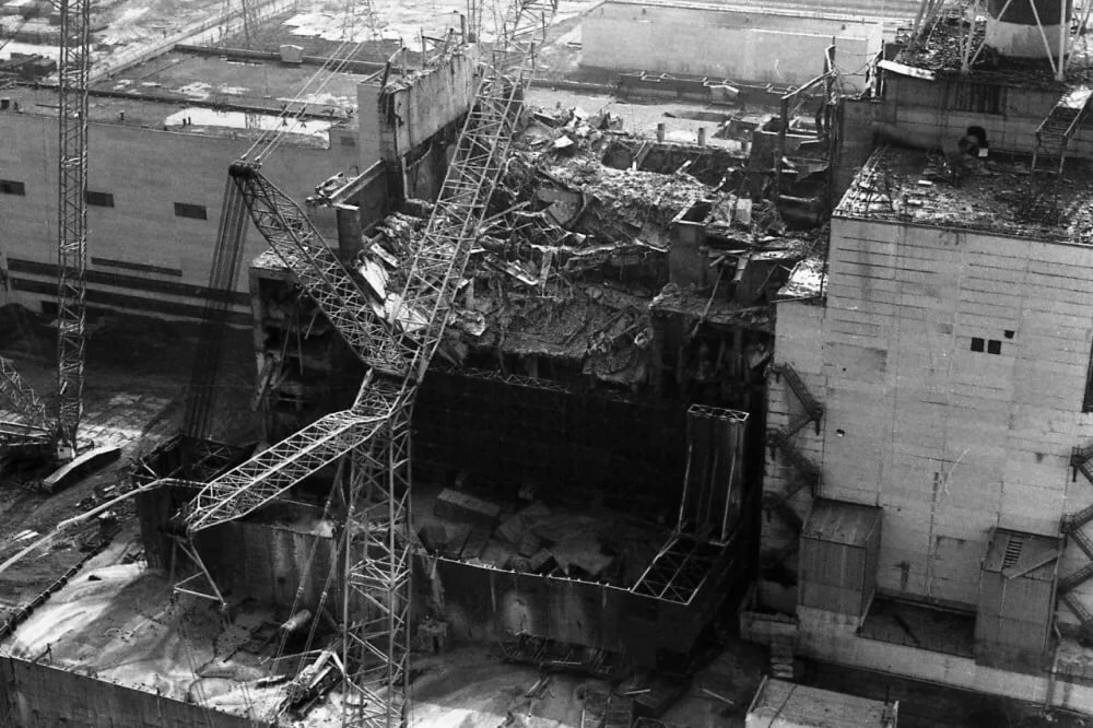 Авария на чернобыльской аэс видео