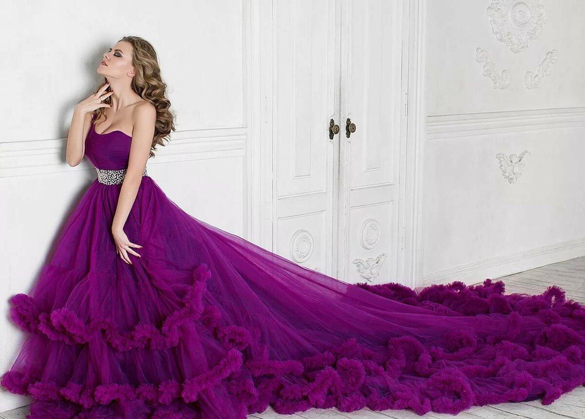 Картинки самых красивых платьев в пол