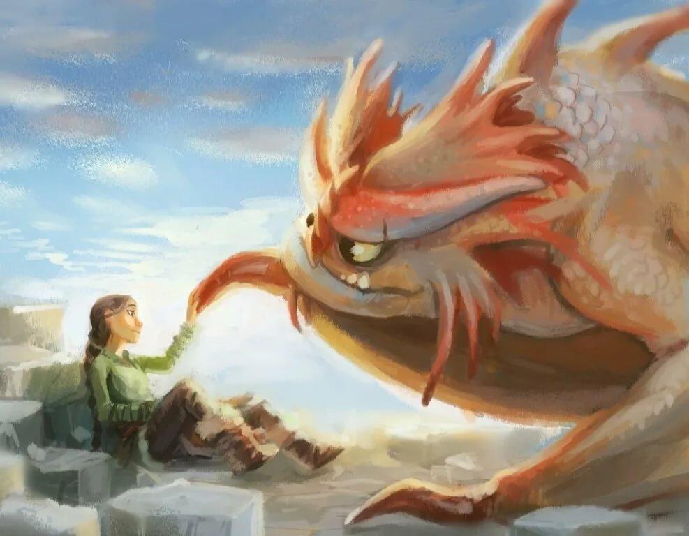 Картинки дракона валки