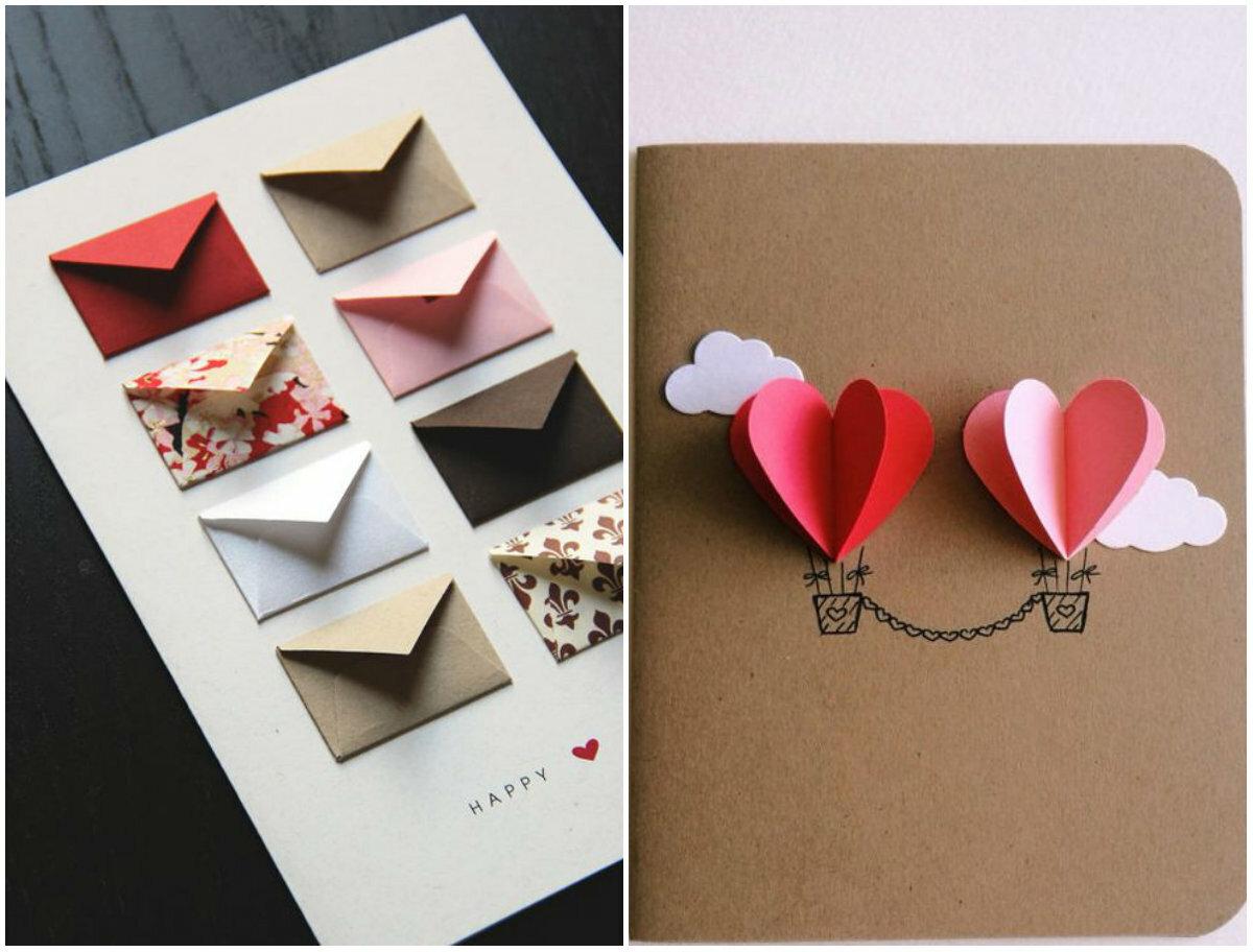 Как сделать красивую открытку из бумаги на день рождение