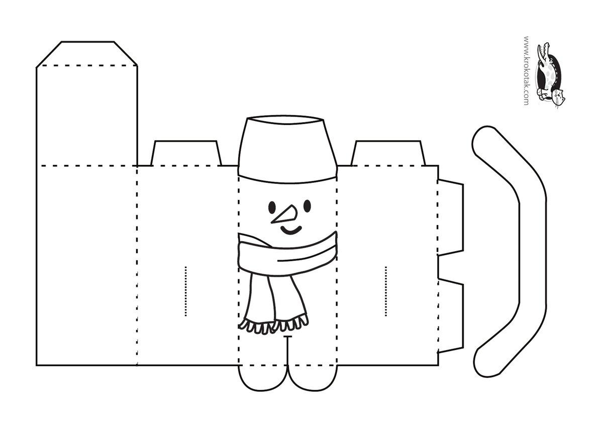 Поделка из бумаги своими руками схемы шаблоны