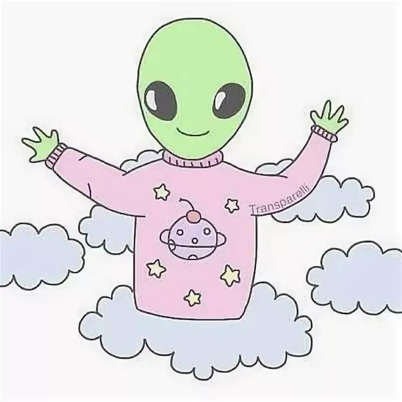 Картинки для срисовки пришельцев