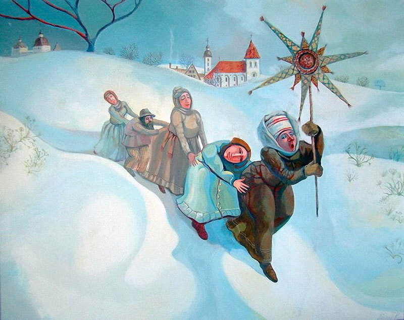 картинка славянское рождество уверены, что
