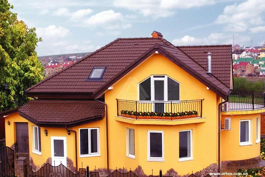 интимных фото оранжевые дома оштукатуренные фото любви