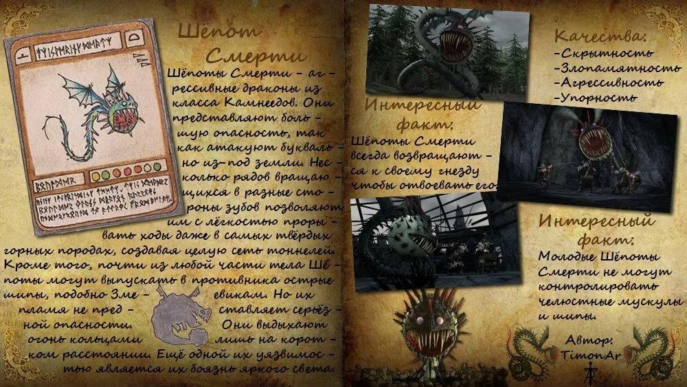 жизнедеятельностью, фото книги драконов из как приручить дракона внутренняя оболочка
