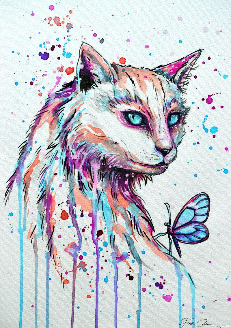 Сделать, крутые рисунки про животных