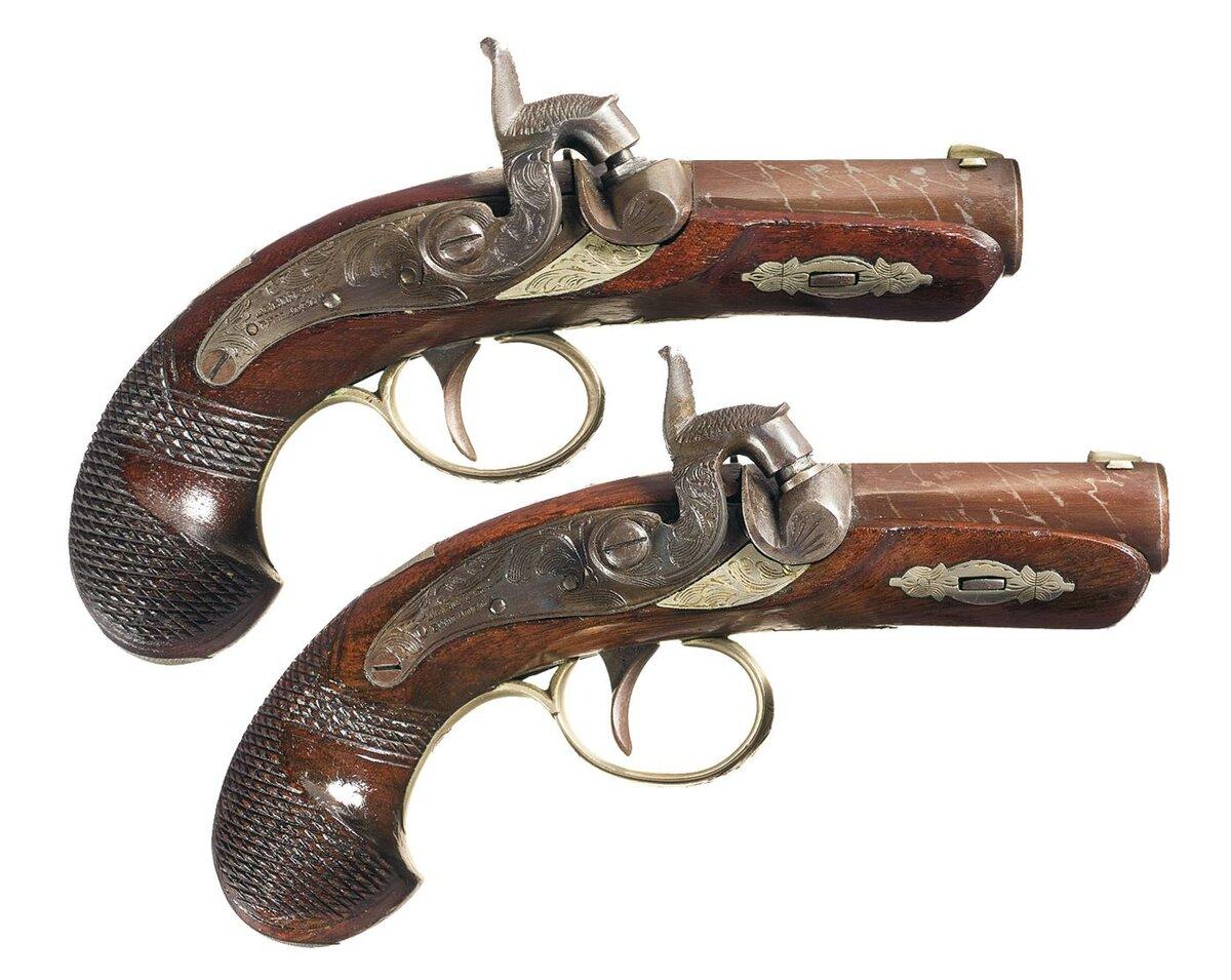 Старинные ружья картинка