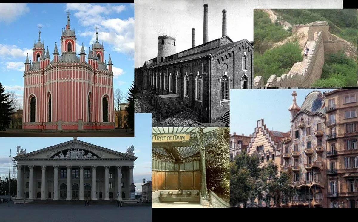 сравнение зданий на картинке напомнила, что