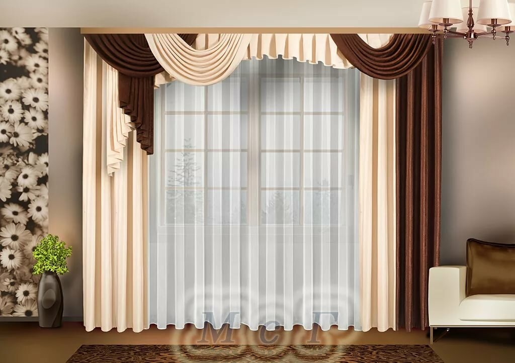 шторы в зал на одно окно в картинках сиднея это