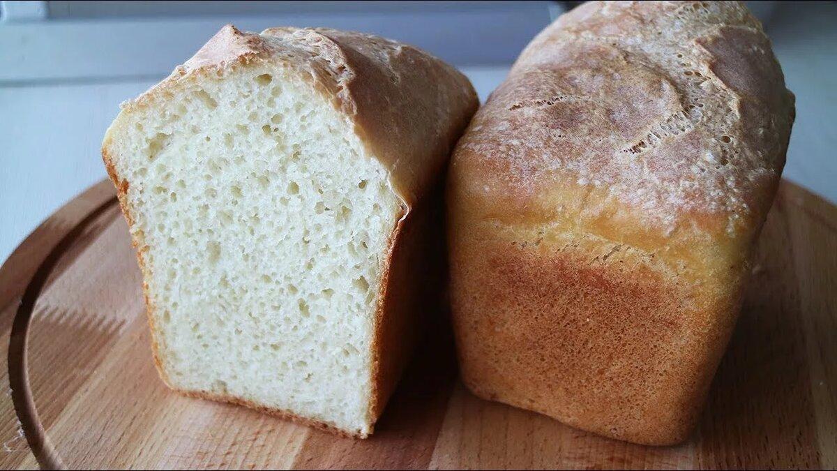 Фото белого хлеба кирпичиком