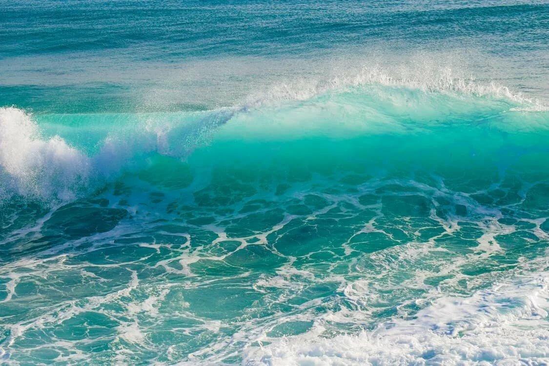 цвет морской волны в картинках