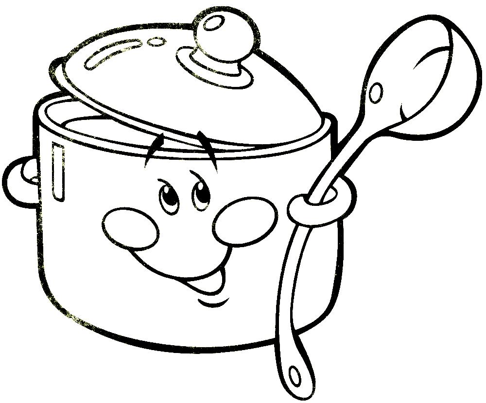 распечатать картинки посуды гладь, гудит мотор