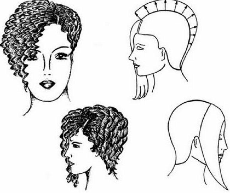 Технология женских стрижек с картинками