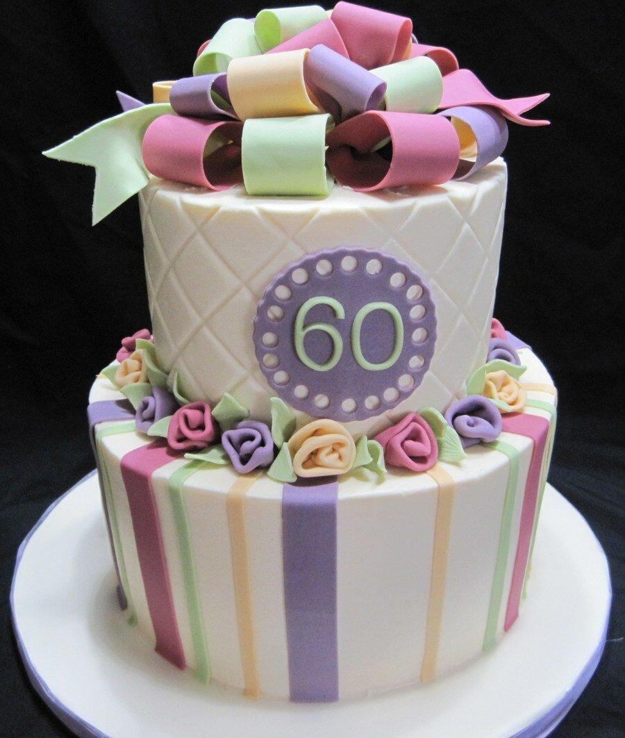Приколы, картинки тортов на 60 лет