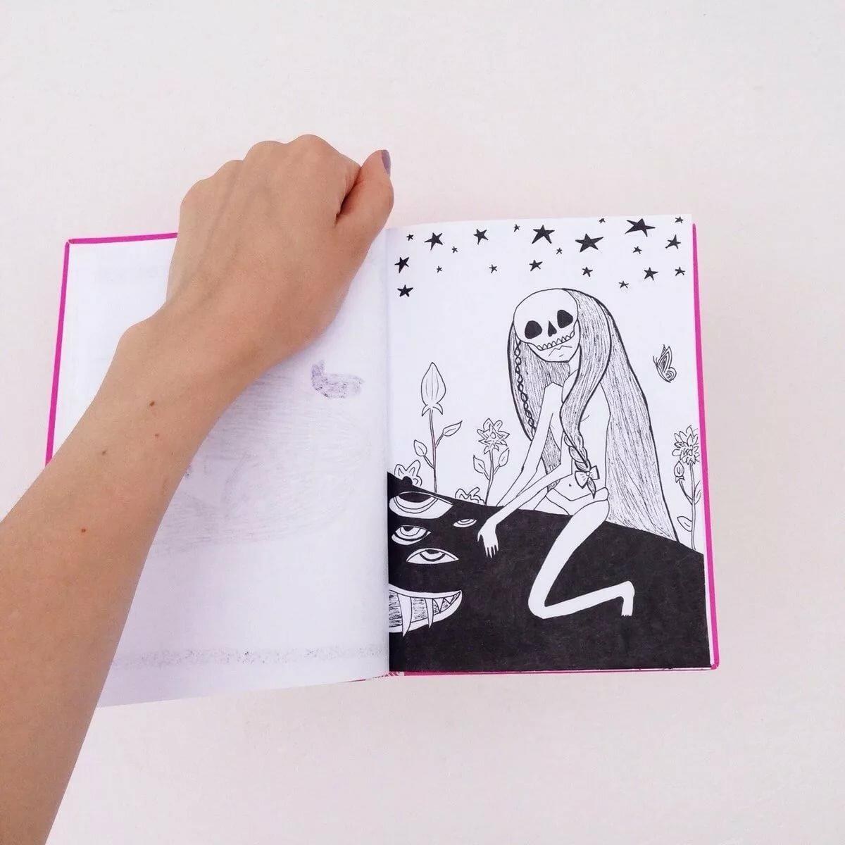 Летием женщине, прикольные рисунки для скетчбука