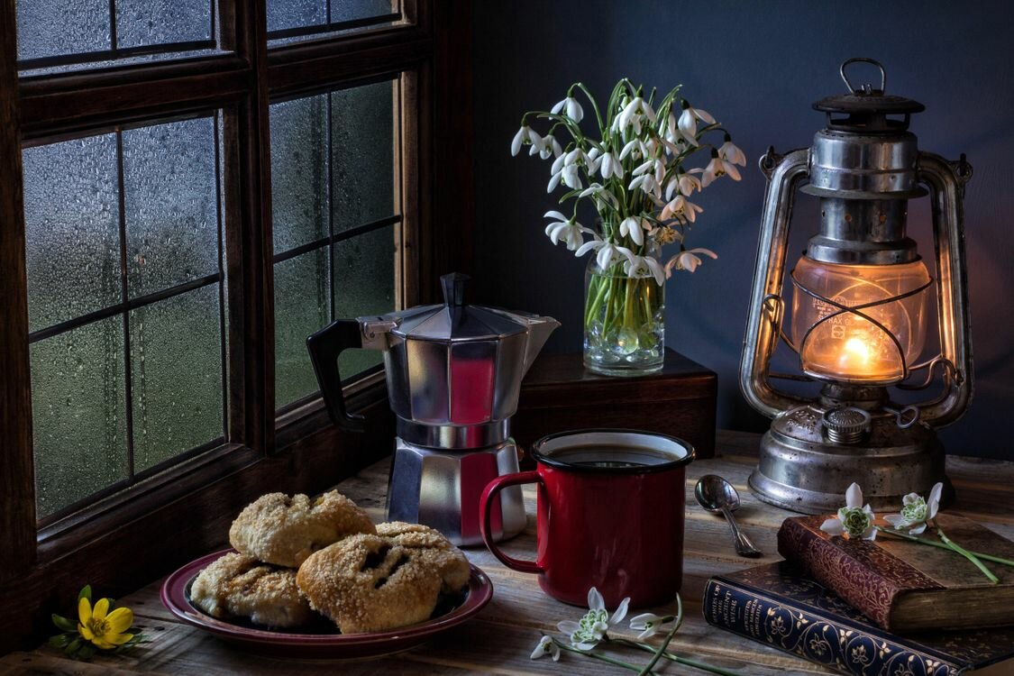 Ильин, картинки уютный вечер