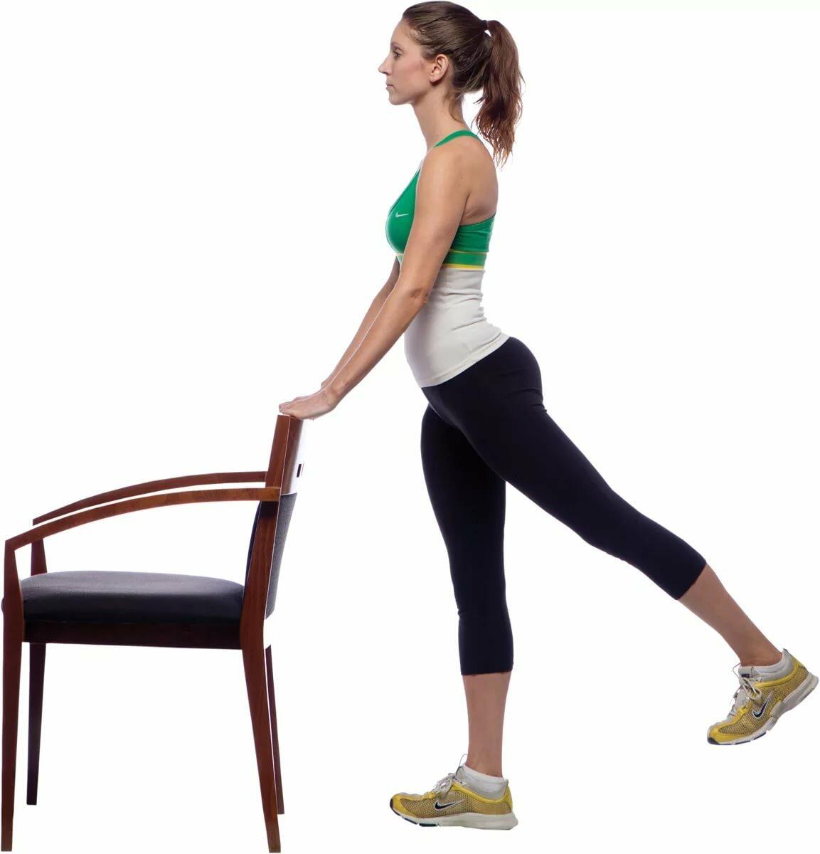 Картинки упражнения для бедер и ног
