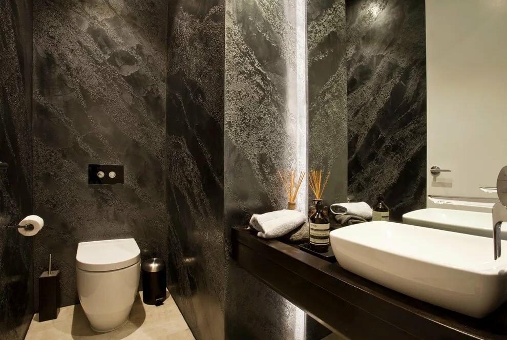 отделка ванной короедом