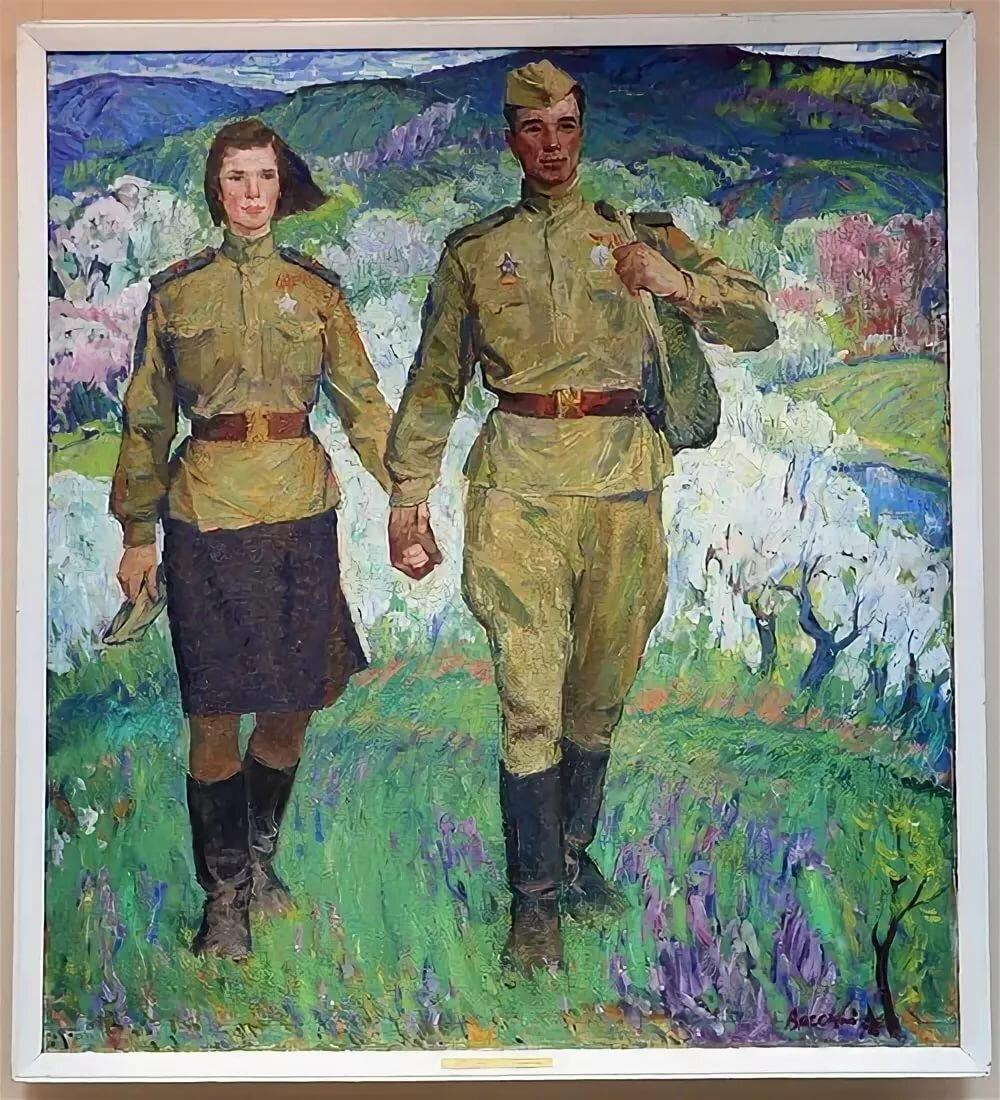 Год, картинки на 9 мая с солдатом со с войны вернулся домой