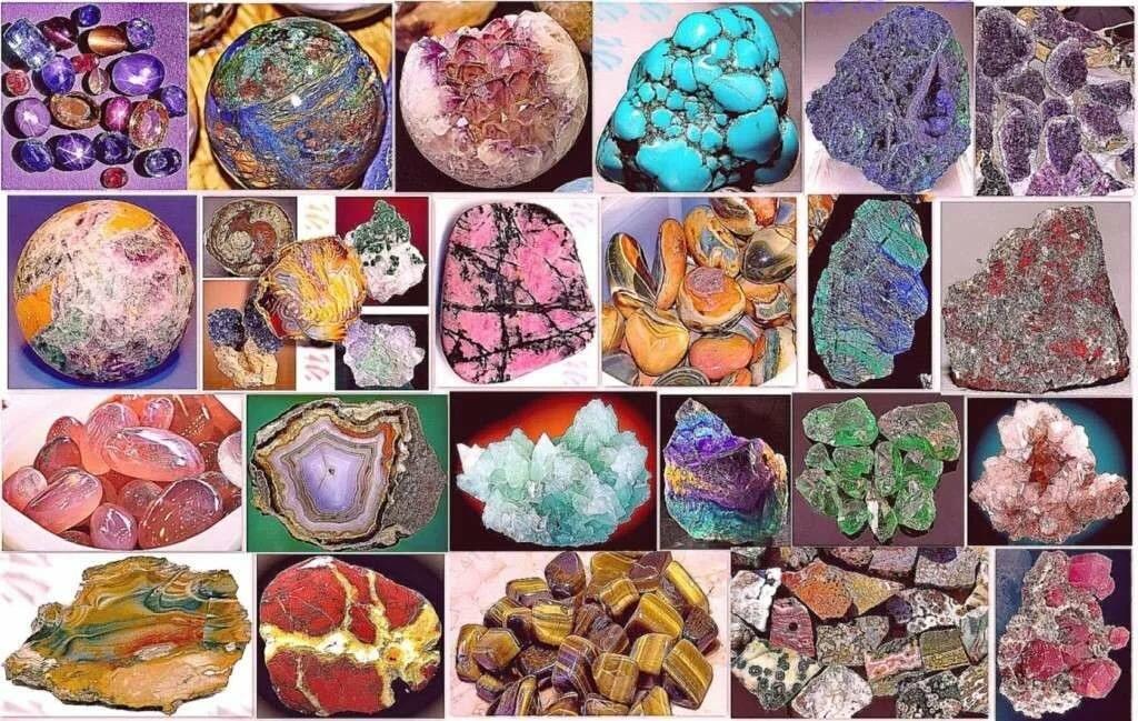 Камни самоцветы картинки с названиями
