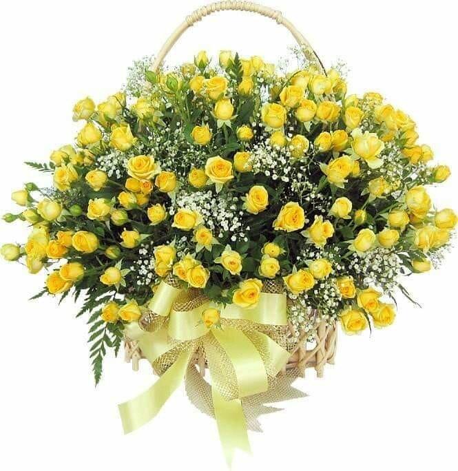 Семейном, открытка с днем рождения желтые цветы