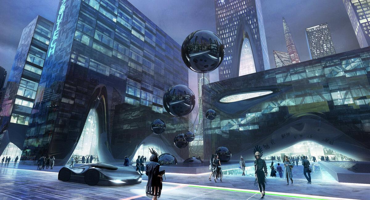 Картинки улицы будущего