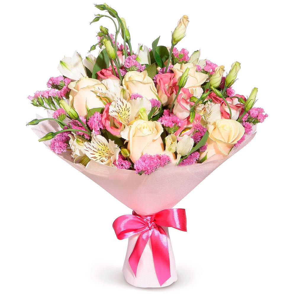 Подарочные букеты из цветов современные, цветы оазис
