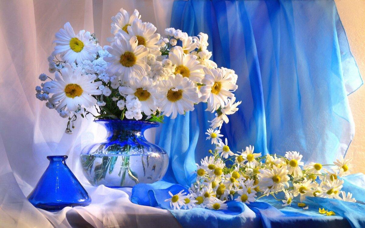 Составить онлайн, цветочное настроение открытка